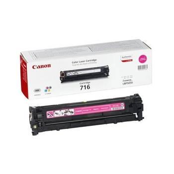 Toner Laser Original 716 Cap 1500 Pages Magenta CANON